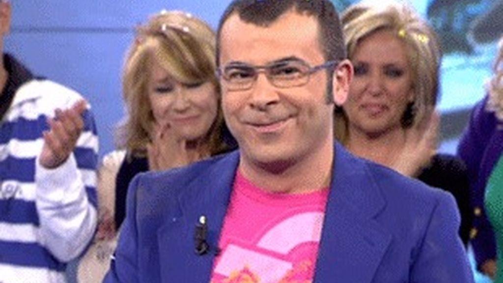 Jorge Javier Vázquez, en el momento de conocer que había ganado el Ondas.