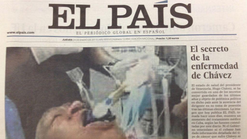 El País Hugo Chávez