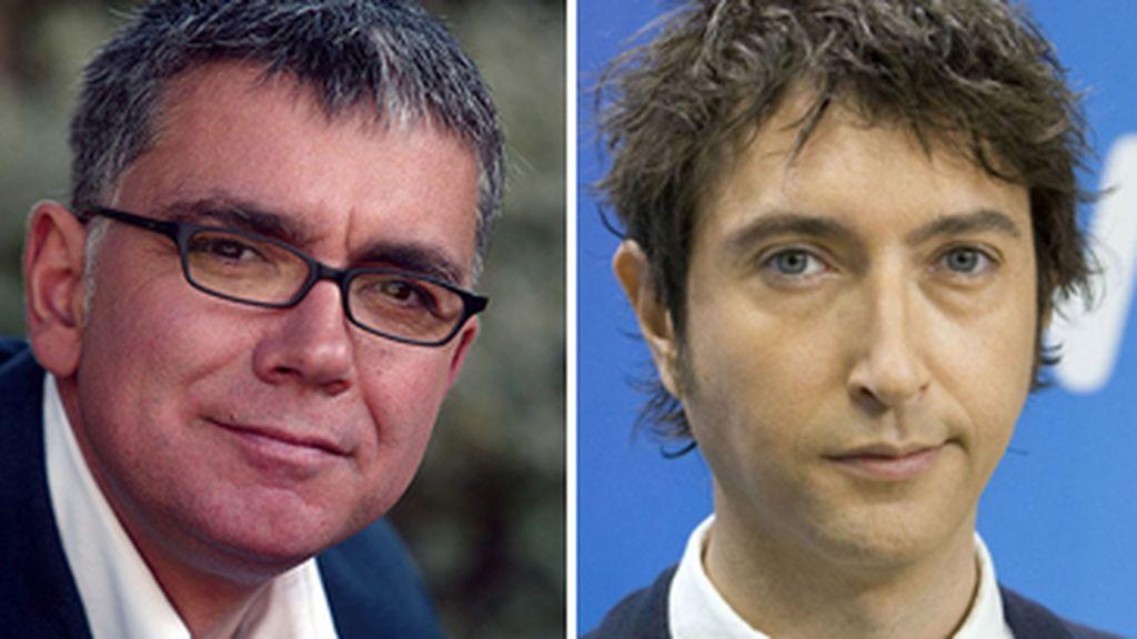 Montaje Juan Ramón Lucas y Toni Garrido