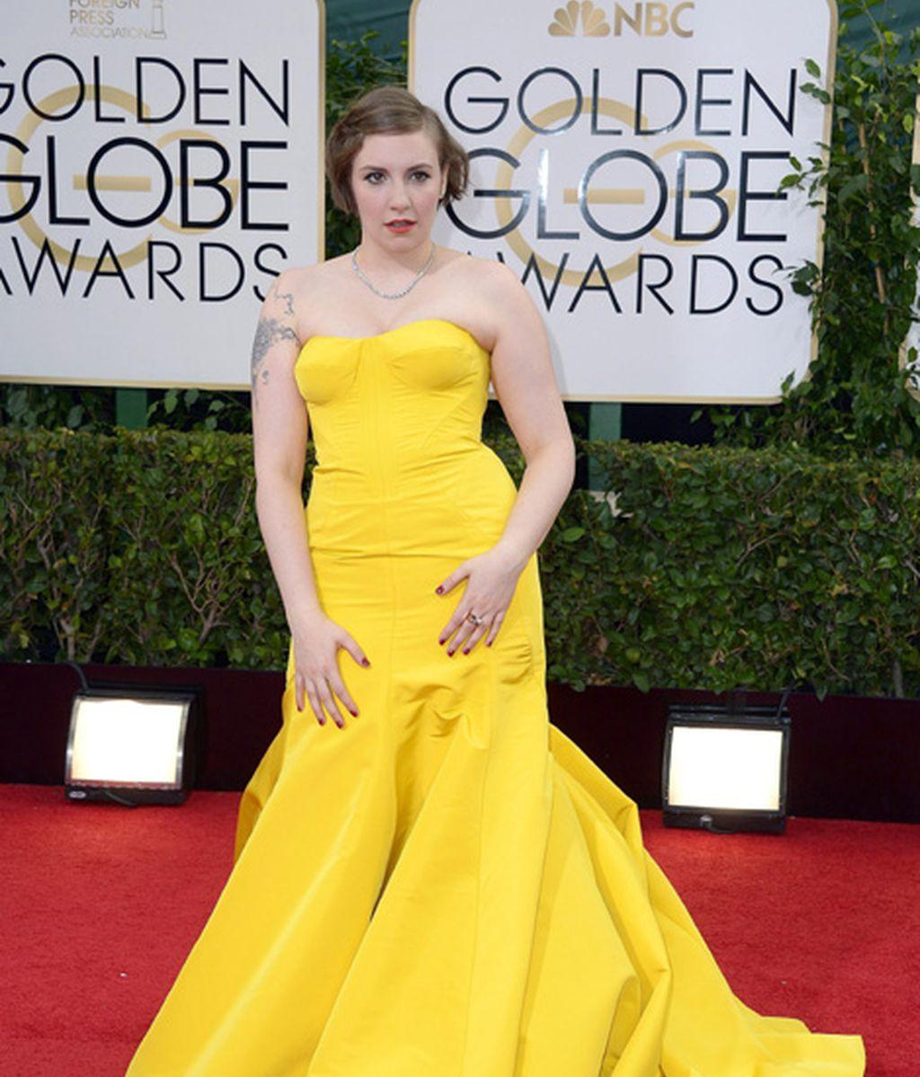 Lena Dunham, nominada a mejor actriz de comedia por 'Girls'
