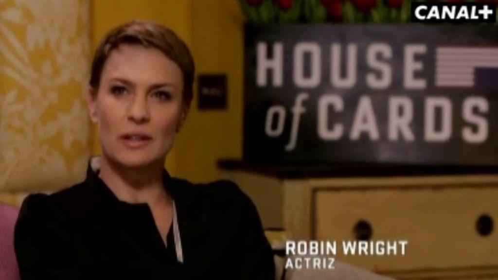 """Robin Wright : """"Hay que salvar muchos obstáculos para conseguir lo que te propones"""""""