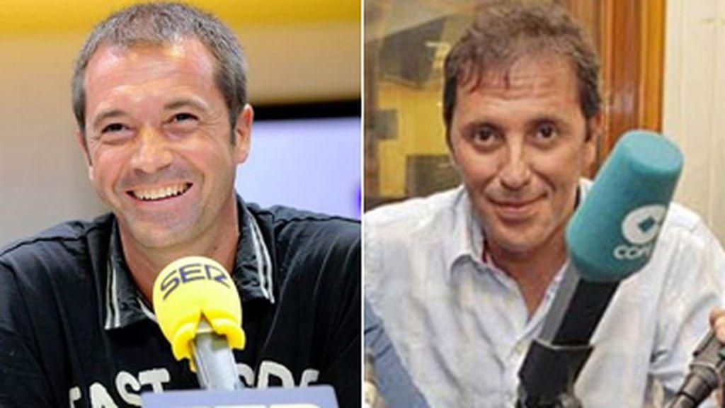 Manu Carreño y Paco González