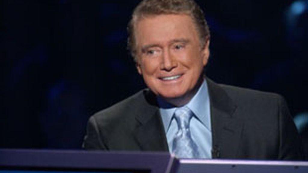 Regis Philbin, presentador de '¿Quién quiere ser millonario?'.
