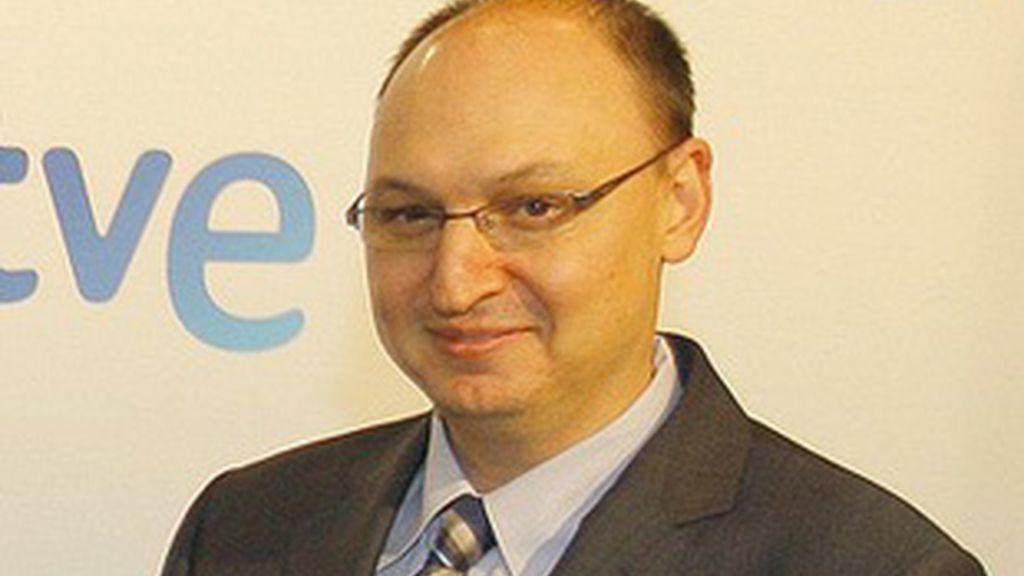 Fran Llorente, el director de Informativos de TVE