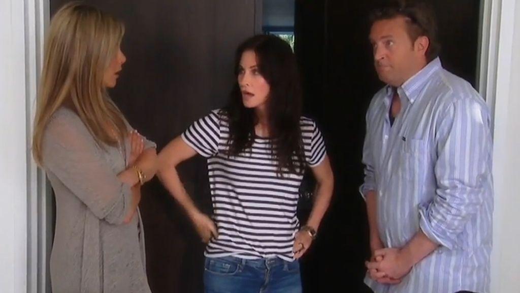 'Friends' vuelve a unirse 10 años después gracias a Ellen DeGeneres