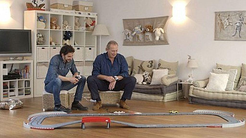 Bertín Osborne y Paco León en 'En la tuya o en la mía' (TVE)