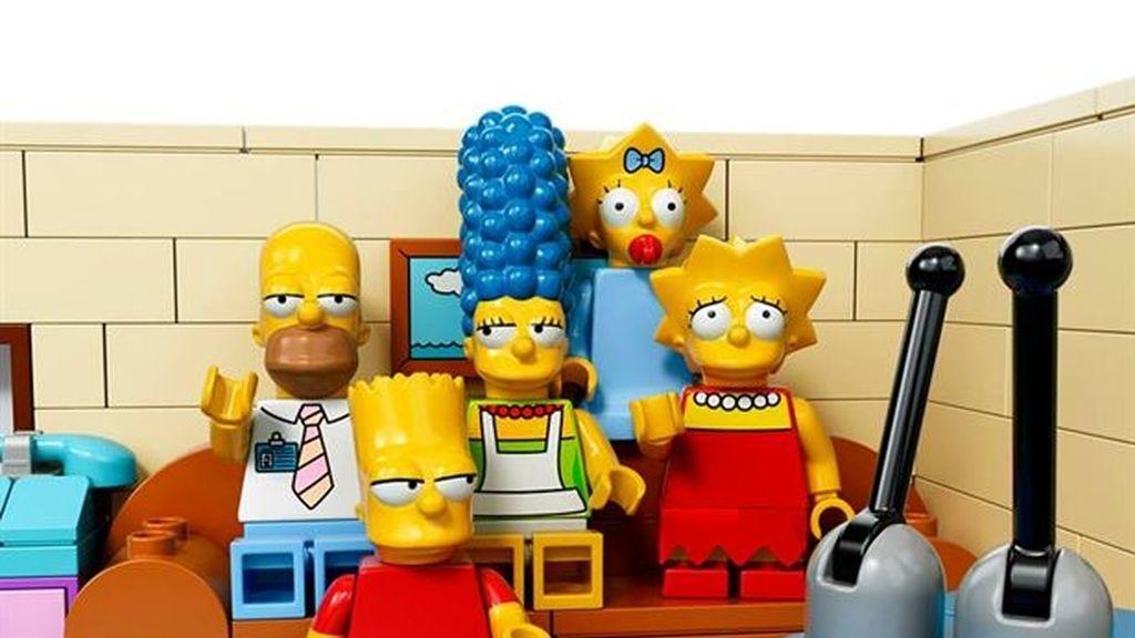 Los Simpson en Lego