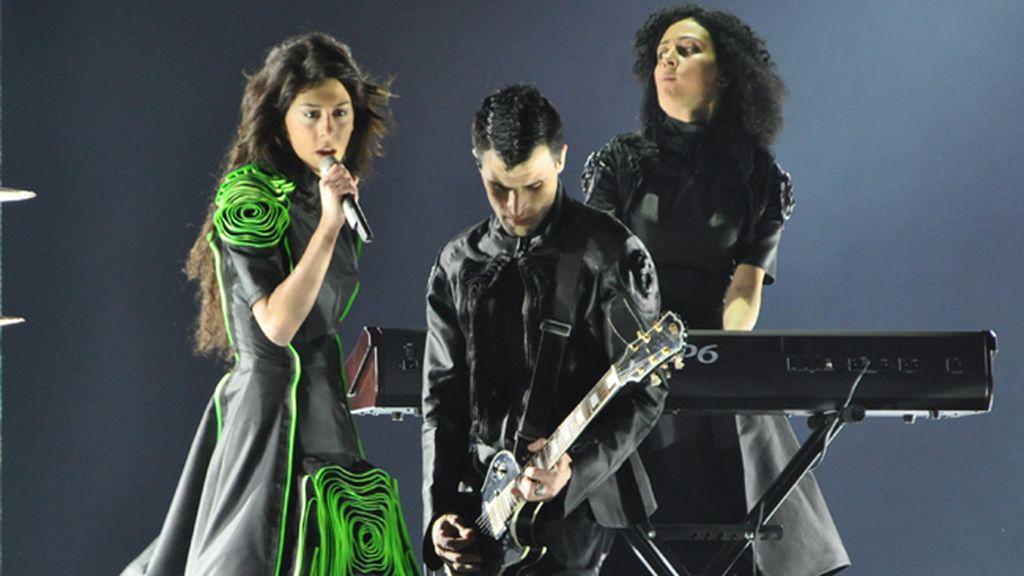 Eurovisión 2011. Georgia