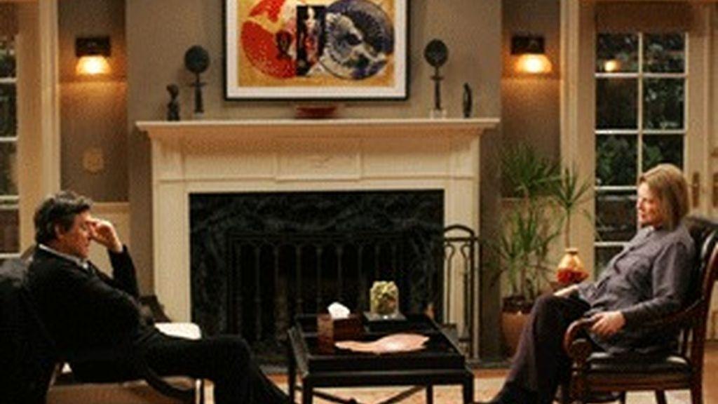 Gabriel Byrne y Diane Wiest, protagonistas de 'En tratamiento'.