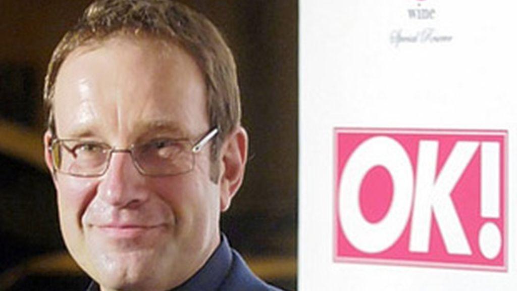 Richard Desmond, dueño de 'Daily Express' y 'OK'.
