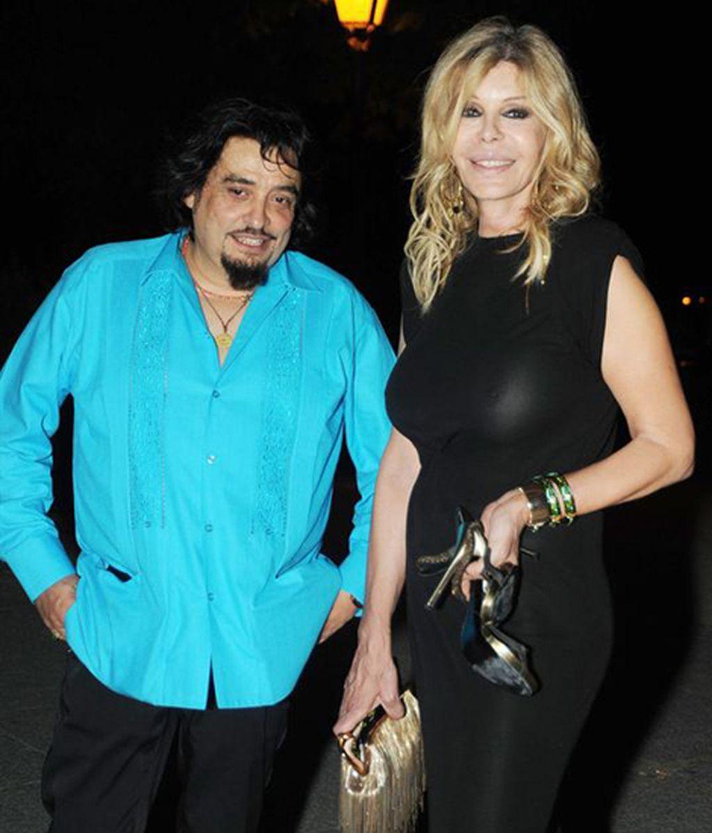 Miguel Ángel Arenas 'Capi' y Bibiana Fernández
