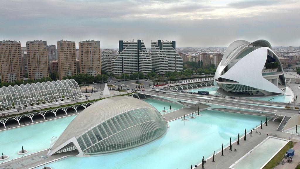 Ciudad de las Artes y las Ciencias en Valencia