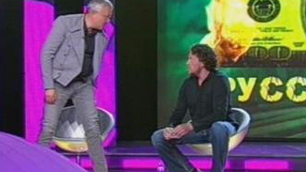Lebedev agrede a Polonski en un programa de la NTV