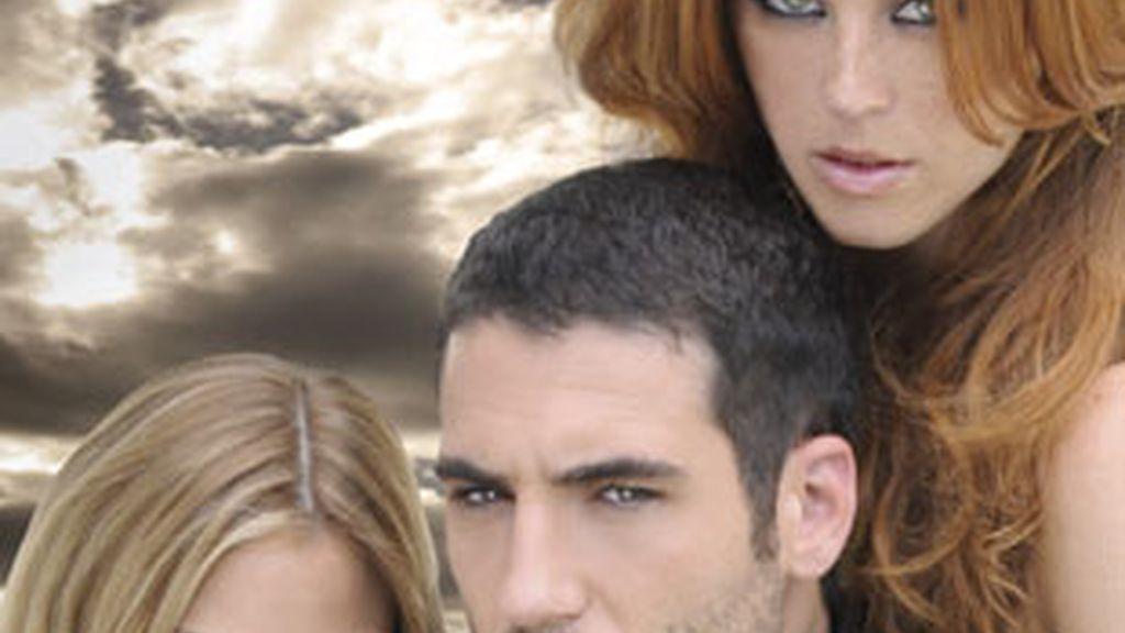 Amaia Salamanca, Miguel Ángel Silvestre y María Castro.