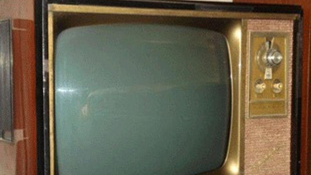 Televisor analógico.