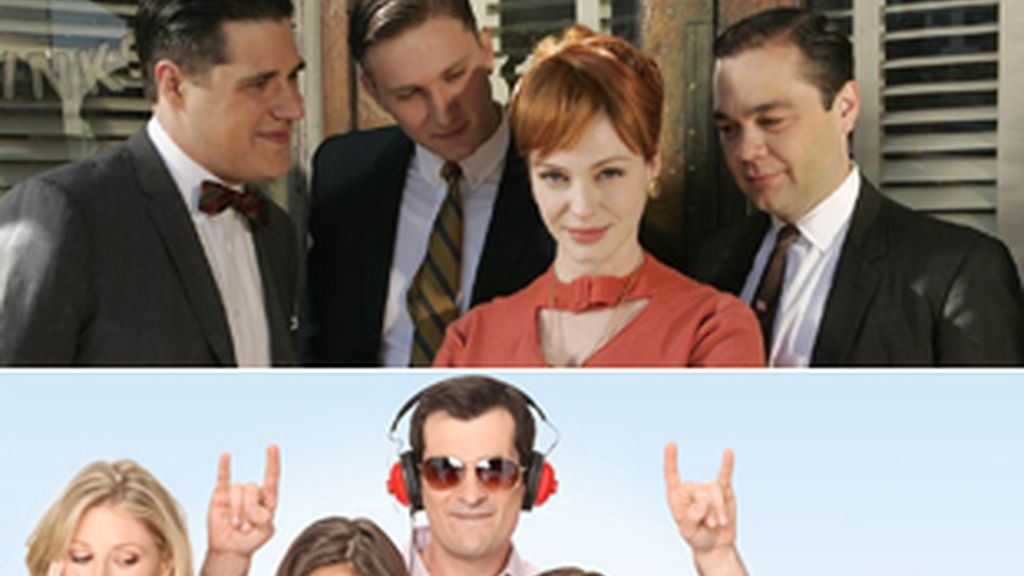 'Mad Men' y 'Modern Family'.