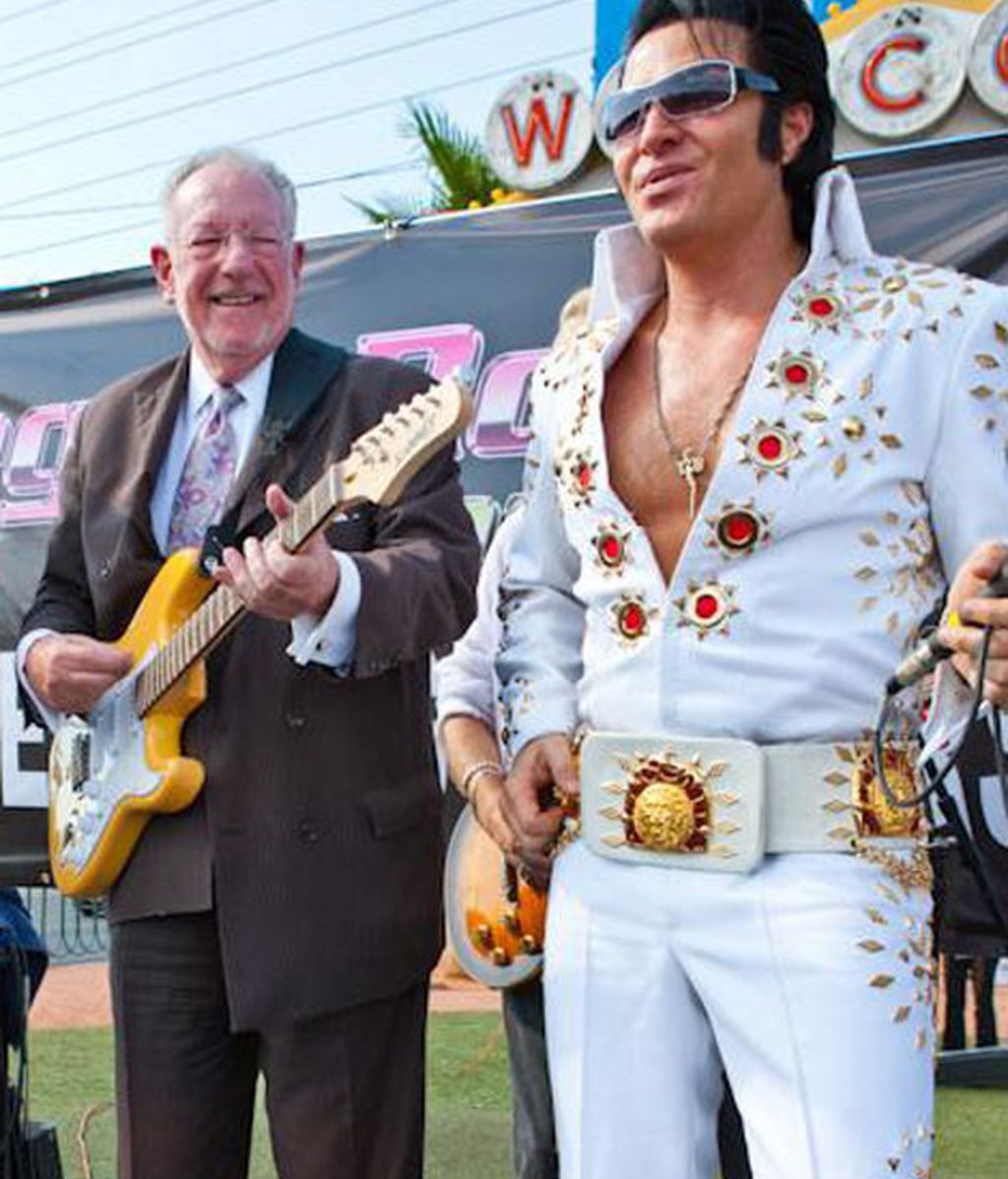 Oscar Goodman, exalcalde de Las Vegas, es el anfitrión de la inauguración del Museo de la Mafia