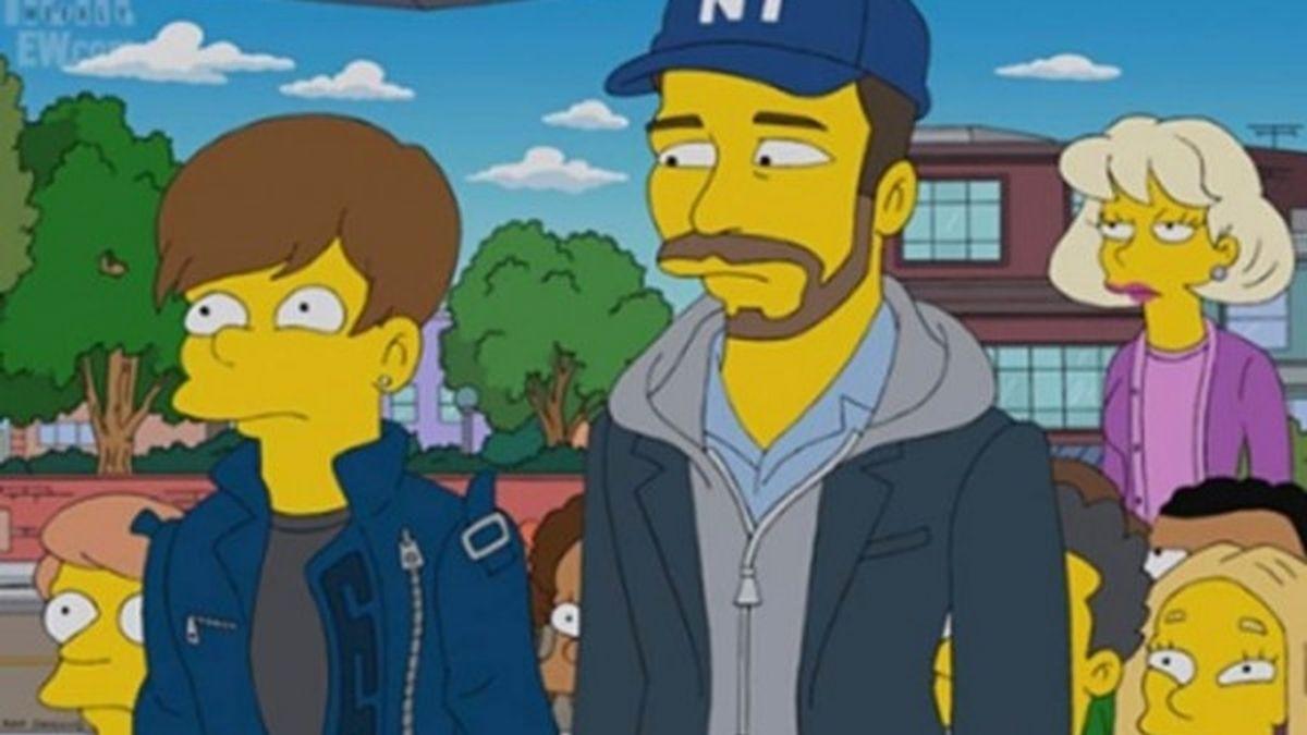 Justin Bieber Los Simpson