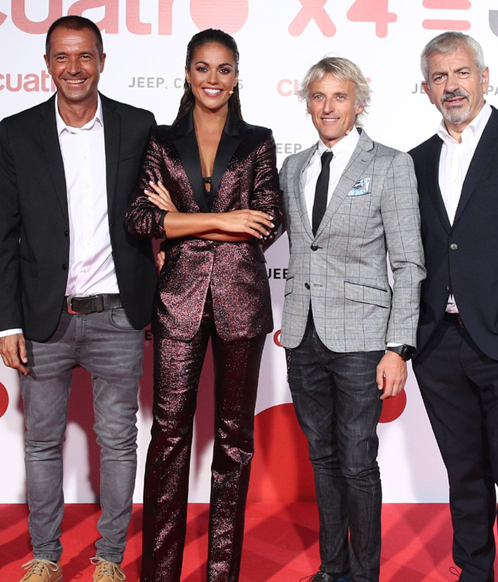 Manu Carreño, Lara Álvarez, Jesús Calleja y Carlos Sobera