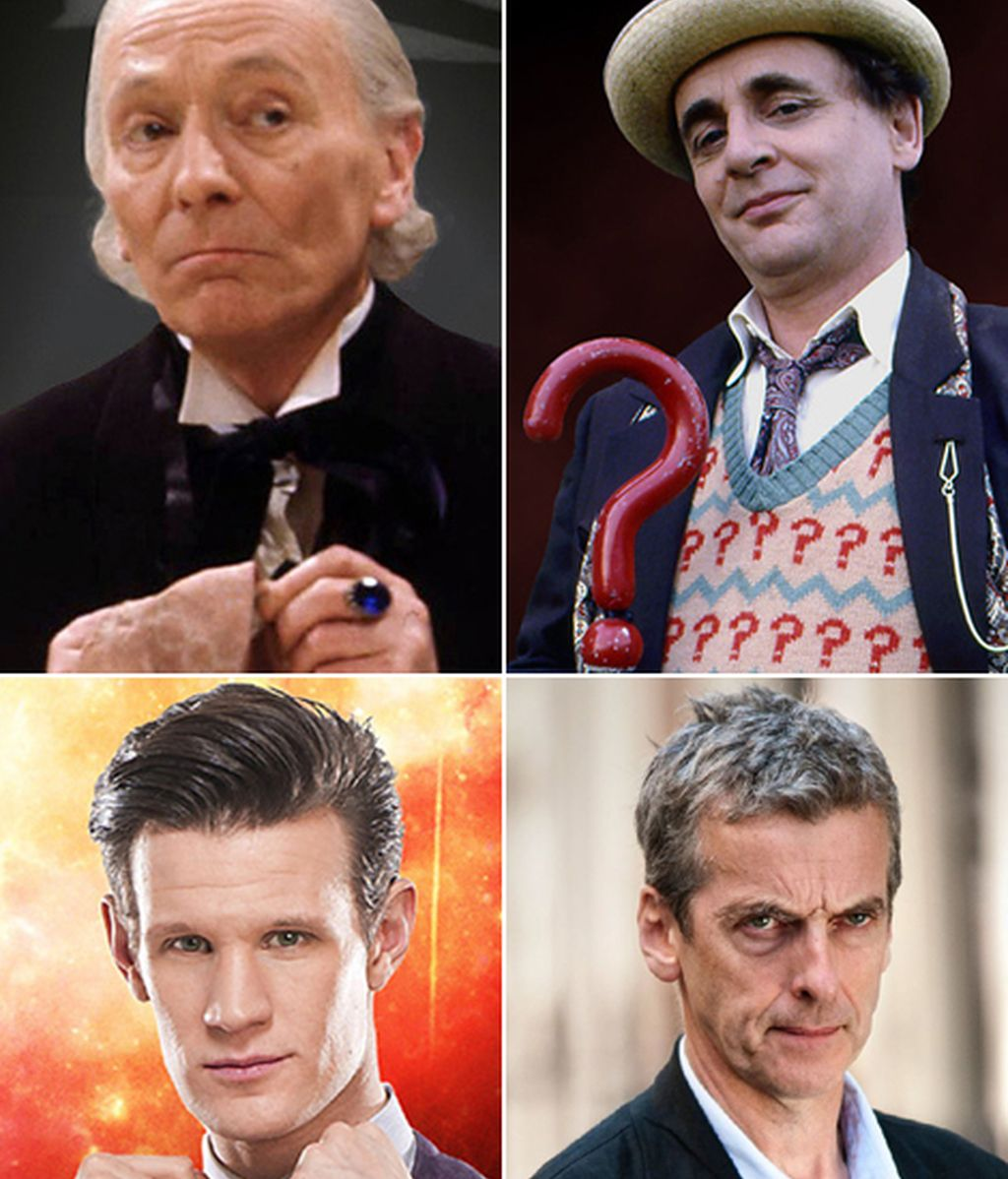 De William Hartnell a Peter Capaldi, 50 años de 'Doctor Who'