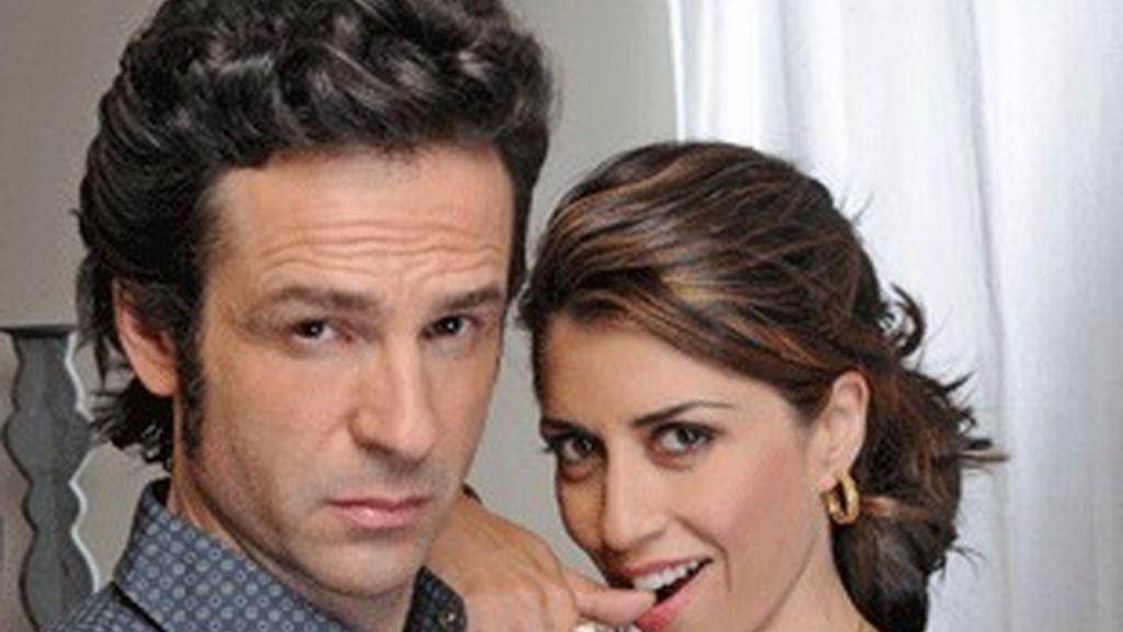 Gustavo Salmerón y Alicia Borrachero, los Tamayo-Gómez.