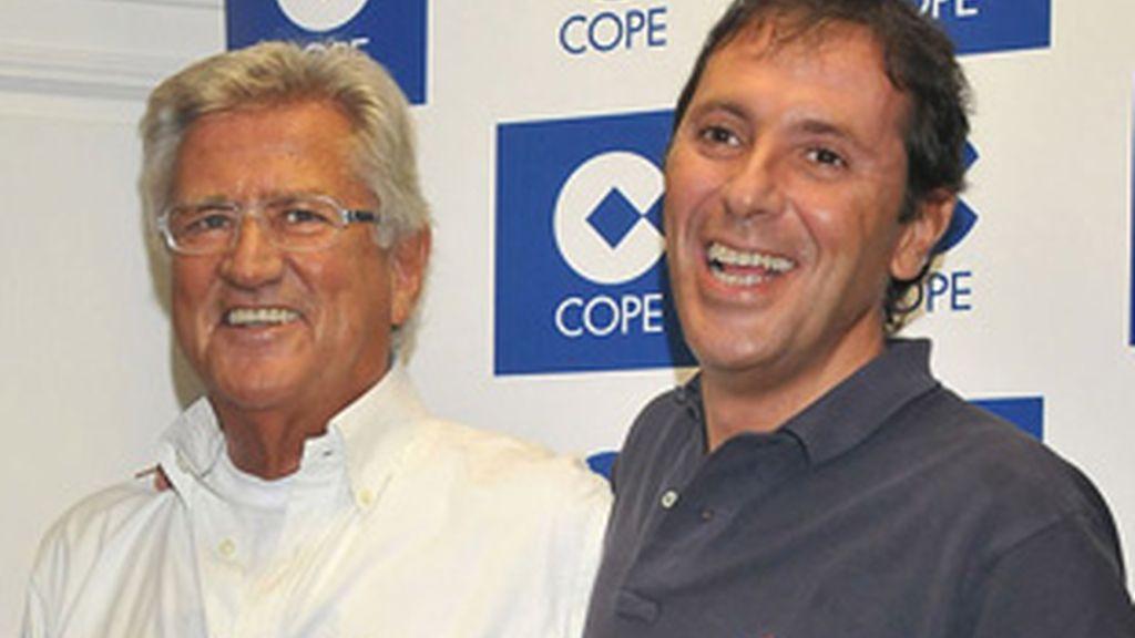 Pepe Domingo Castaño (izquierda) y Paco González.