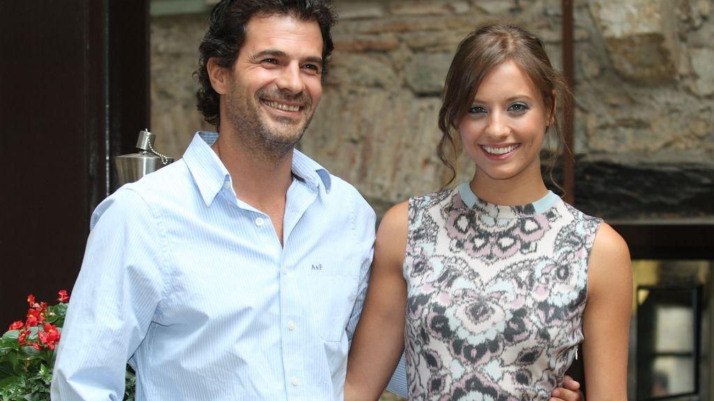 Rodolfo Sancho y Michelle Jenner, presentación de 'Isabel' en el IV FesTVal de Vitoria