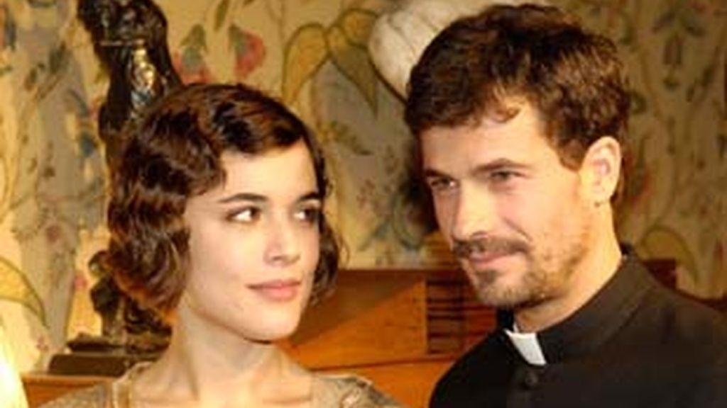 Adriana Ugarte y Rodolfo Sancho, protagonistas de 'La Señora'.