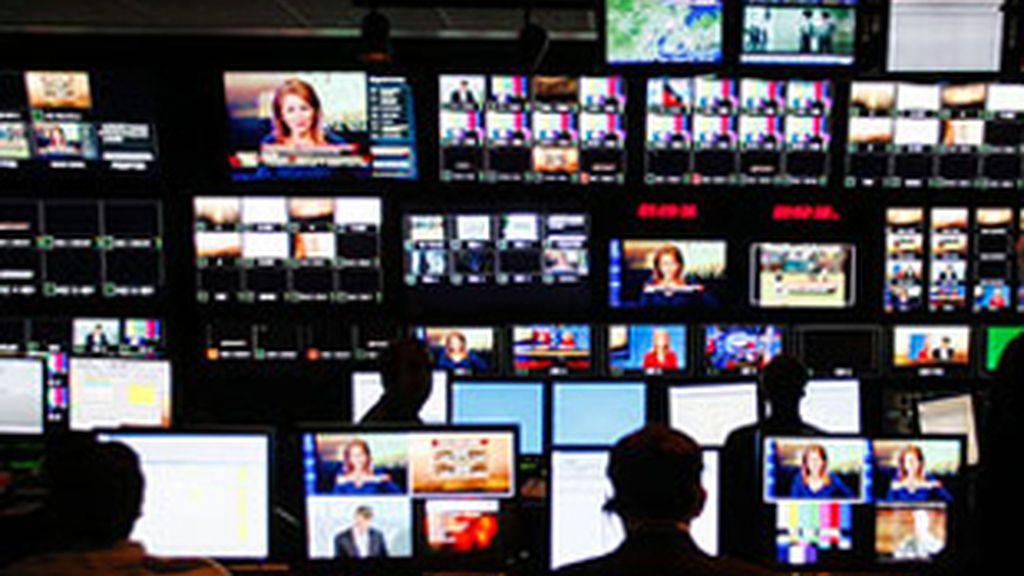 Imagen de una sala de control.