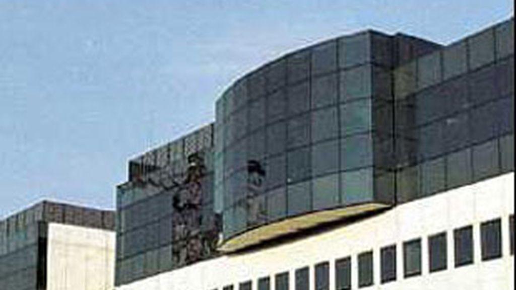 Edificio de la televisión pública gallega.