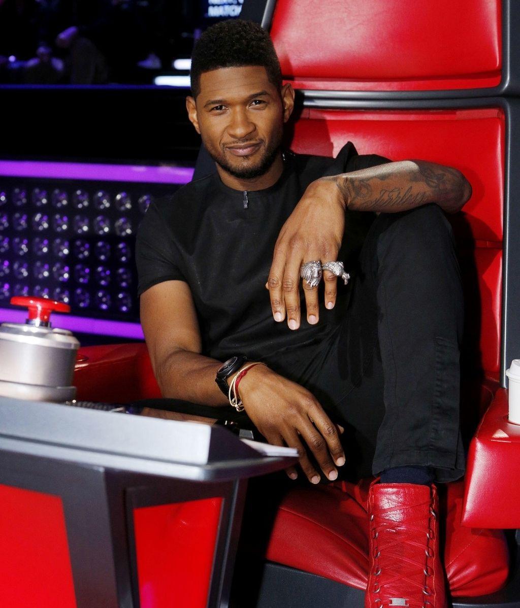 Usher, 'coach' de 'The voice USA'