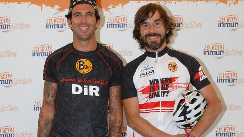 Santi Millán y Josef Ajram formam equipo en la Cape Epic
