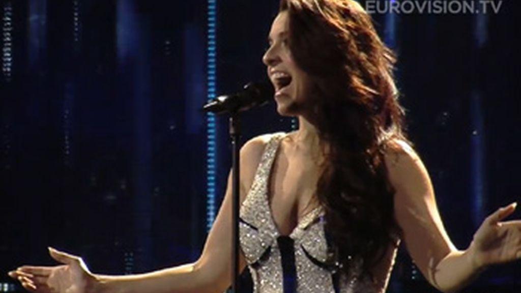 Segundo ensayo de Ruth Lorenzo en Eurovisión