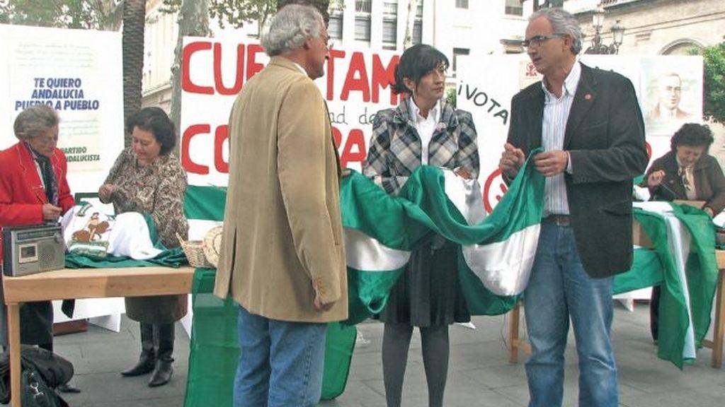 El Partido Andalucista parodia 'Cuéntame'