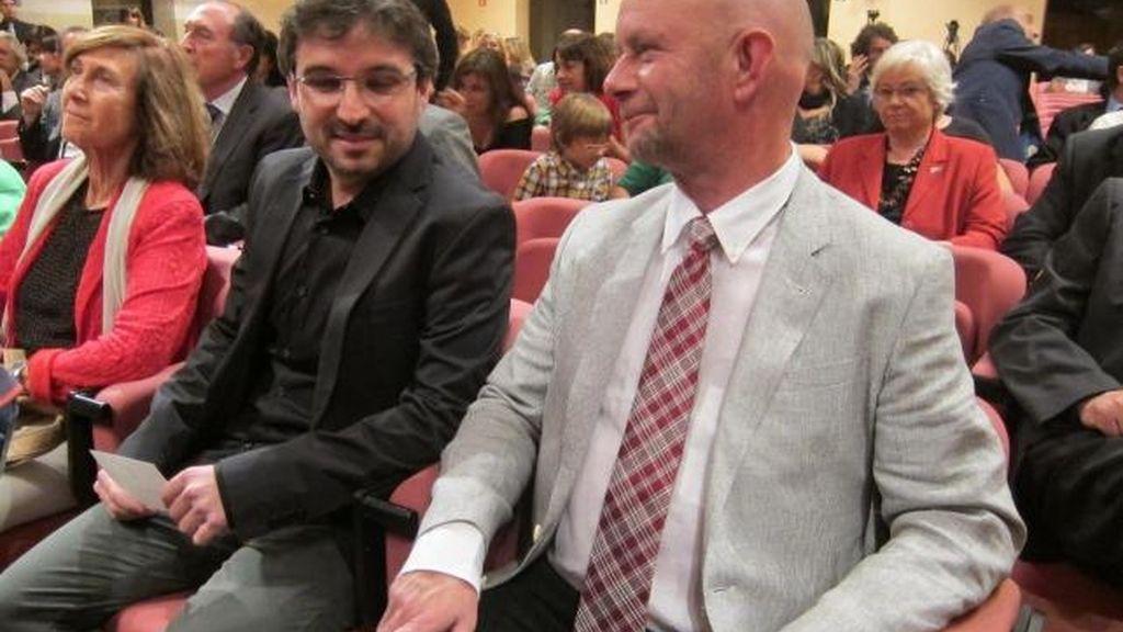 Jordi Evole y Nick Hornby