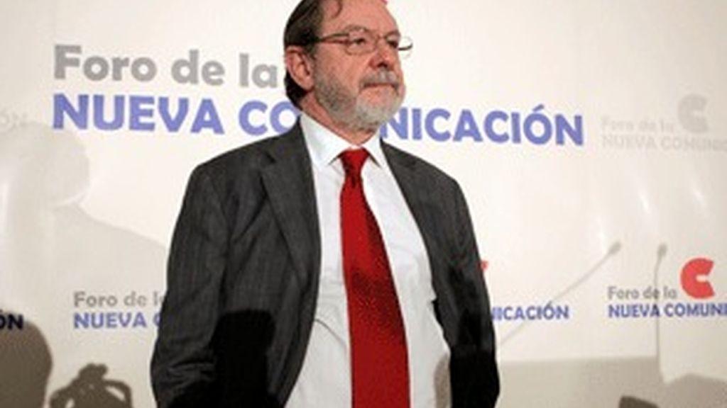 Juan Luis Cebrián, consejero delegado de Prisa.