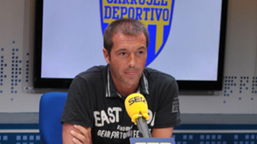 Manu Carreño, nuevo director de 'Carrusel deportivo'.