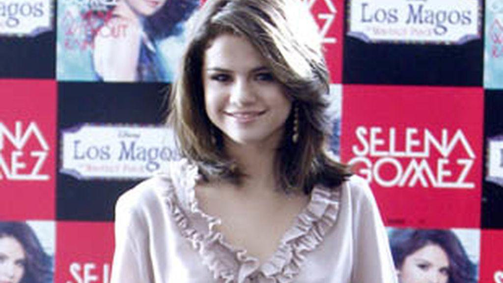 Selena Gómez, en Madrid.