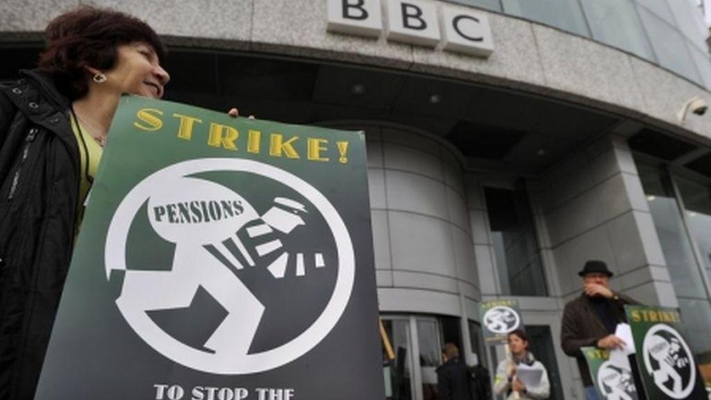 BBC huelga