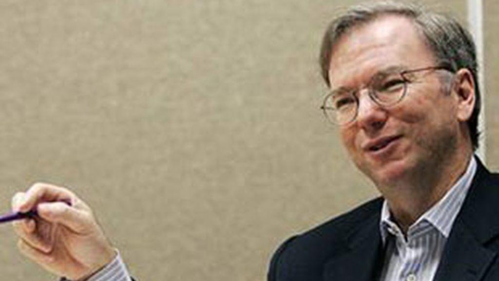 Eric Schmidt, presidente de Google.