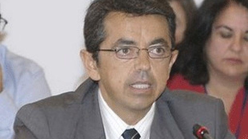 El presidente de Canal Sur, Pablo Carrasco.