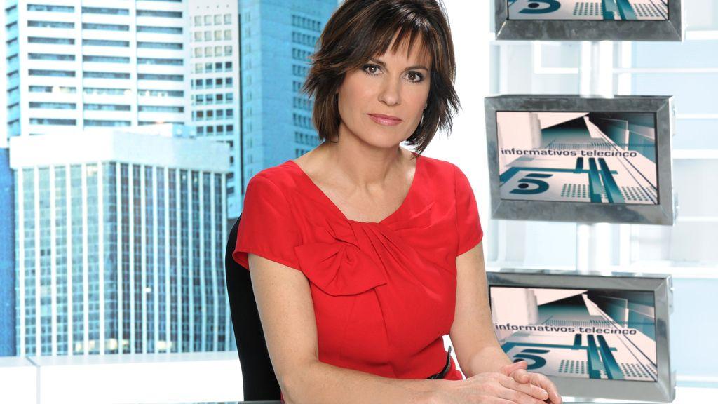 La periodista Concha García Campoy
