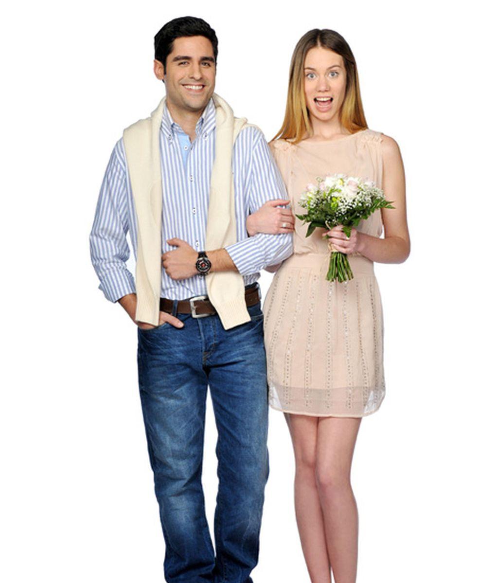 Miguel Diosdado y Arancha Martí son Rodrigo e Irene