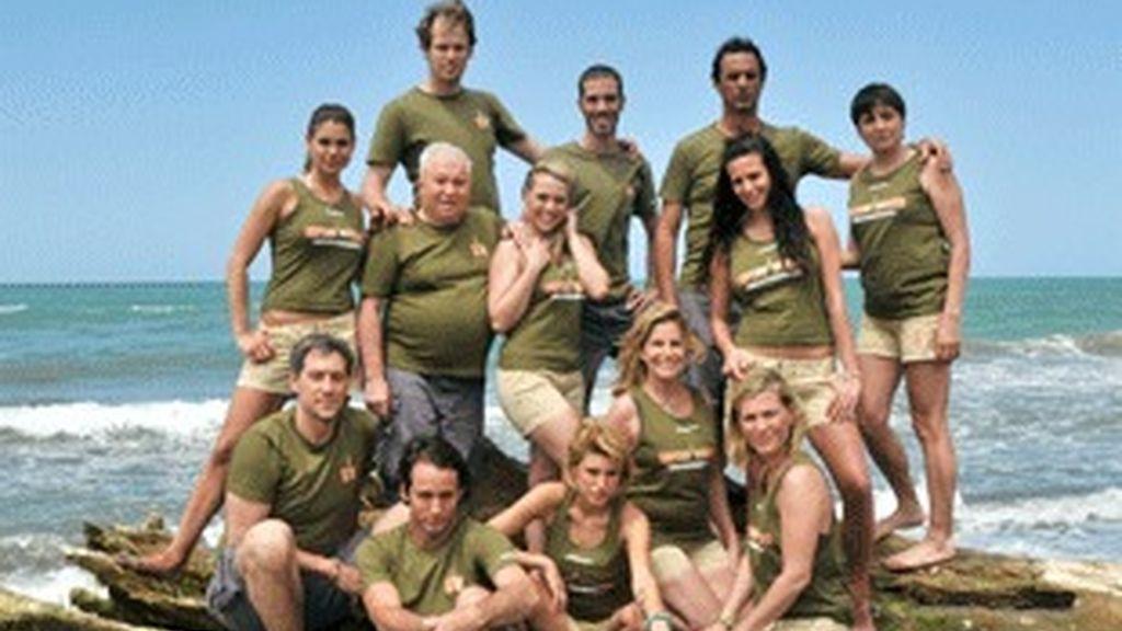 Concursantes de 'Supervivientes 2009', de Telecinco.