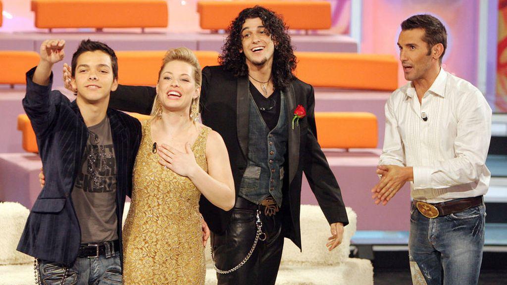 Soraya Arnelas en 'OT4' (Telecinco)