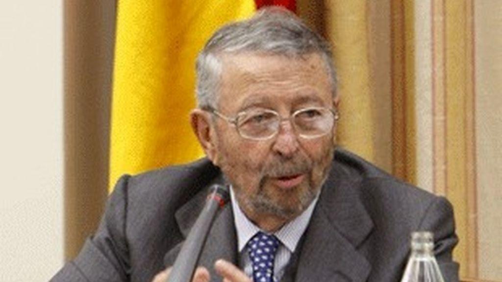 El presidente de la Corporación RTVE, Alberto Oliart.