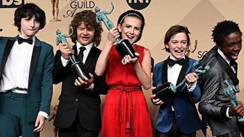 Stranger things, galardonada en los premios SAG