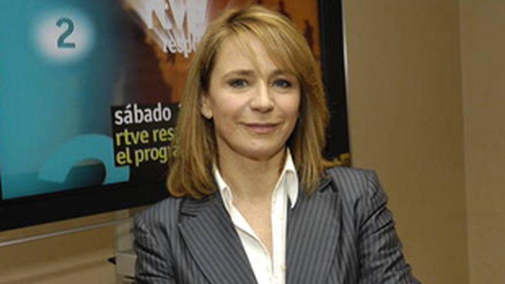 Elena Sánchez Caballero, Defensora del Espectador, el Oyente y el usuario de Medios Interactivos de RTVE.