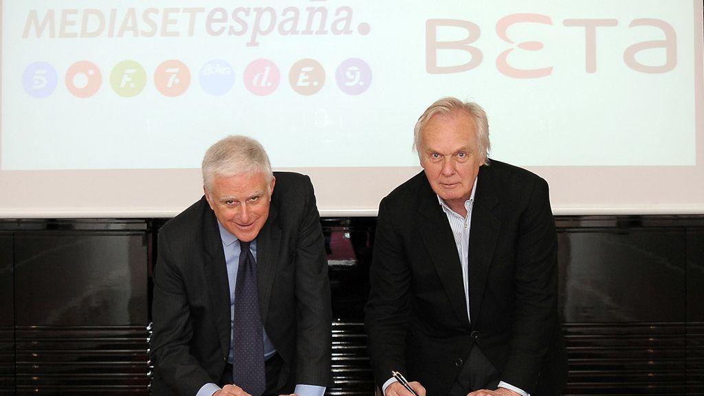 Acuerdo Mediaset-Beta