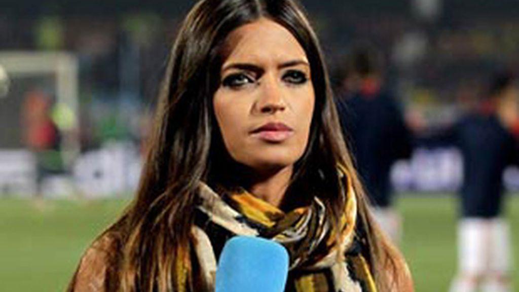 Sara Carbonero, periodista deportiva de Telecinco.